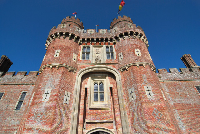 Замок Хёрстмонсо - Herstmonceux Castle 66815