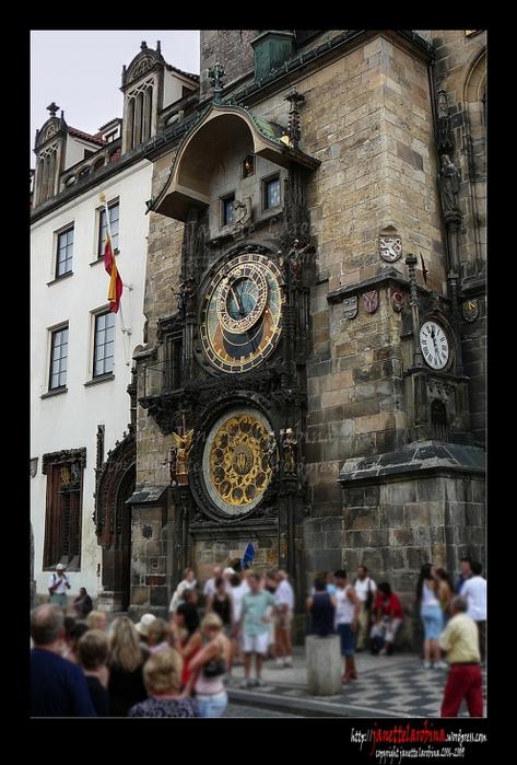 Пражские Астрономические Часы отметили своё 600-летие