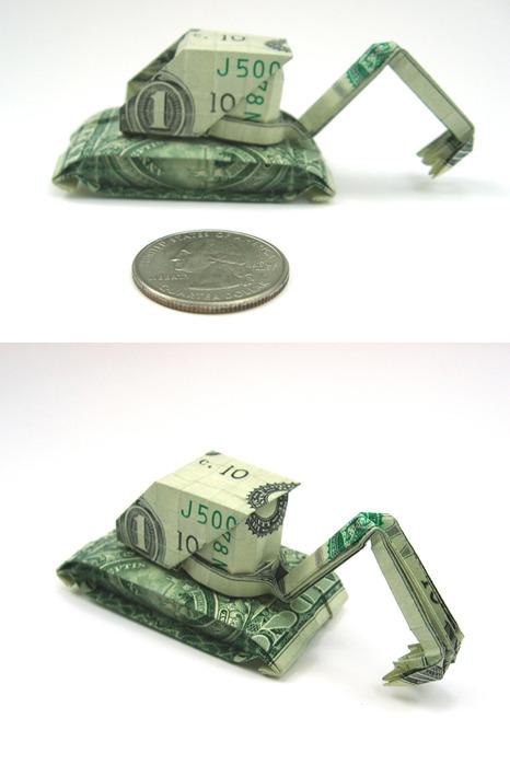 Оригами из долларов 65335771_1287152726_Dollar_Construction_Machine_by_orudorumagi11