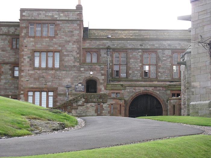 Замок Бамбург (Bamburgh) - Графство Нортумберленд 12550