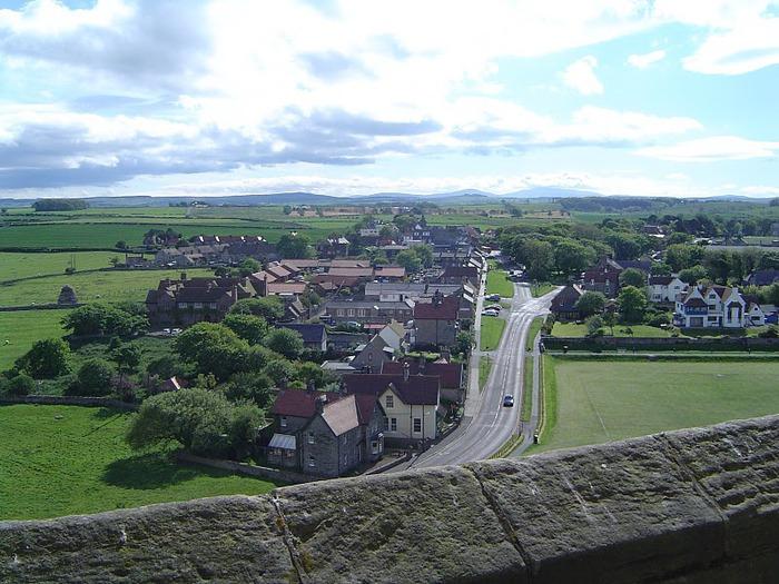 Замок Бамбург (Bamburgh) - Графство Нортумберленд 76570