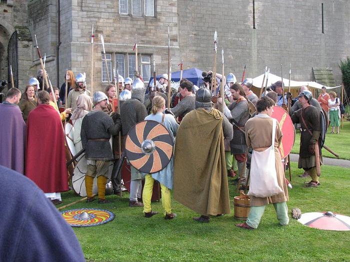 Замок Бамбург (Bamburgh) - Графство Нортумберленд 37797