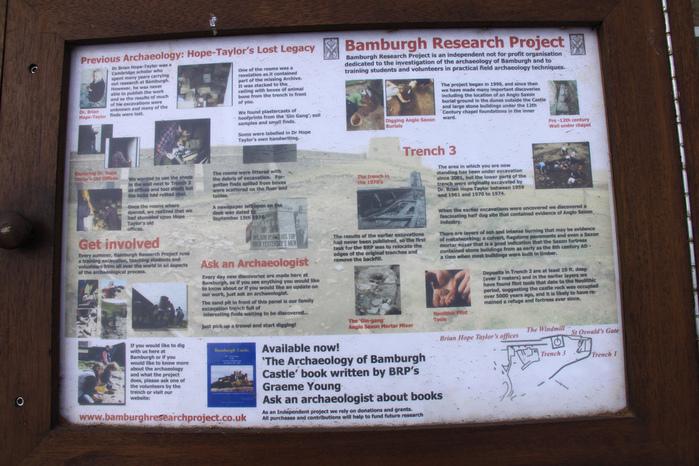 Замок Бамбург (Bamburgh) - Графство Нортумберленд 72766