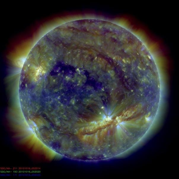пятно 1112, солнце, конец света
