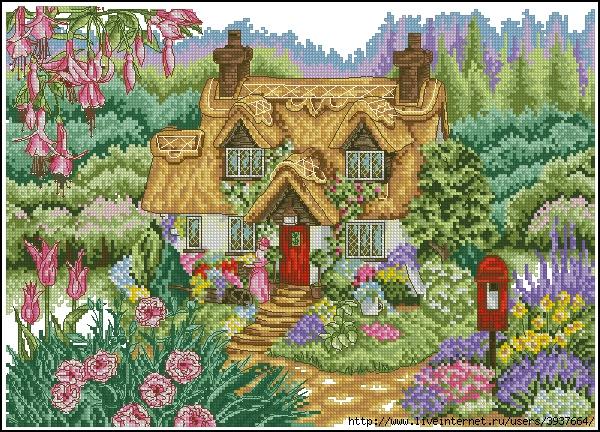 почти сказочные домики