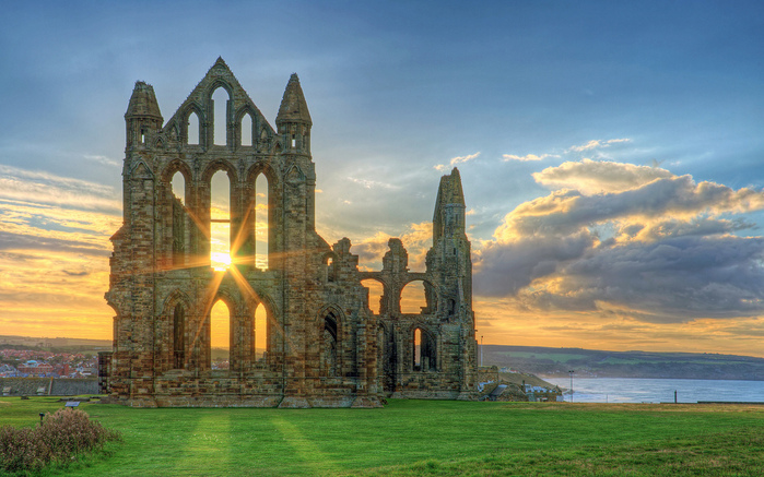 Аббатство Уитби - Whitby Abbey 93489