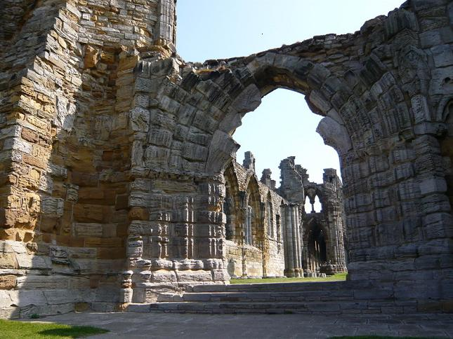 Аббатство Уитби - Whitby Abbey 55506