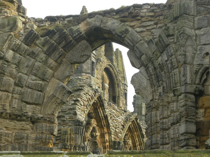 Аббатство Уитби - Whitby Abbey 90171