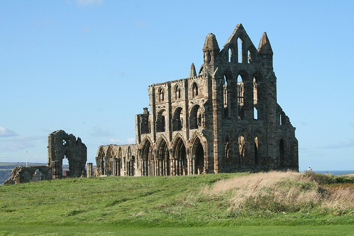 Аббатство Уитби - Whitby Abbey 90023