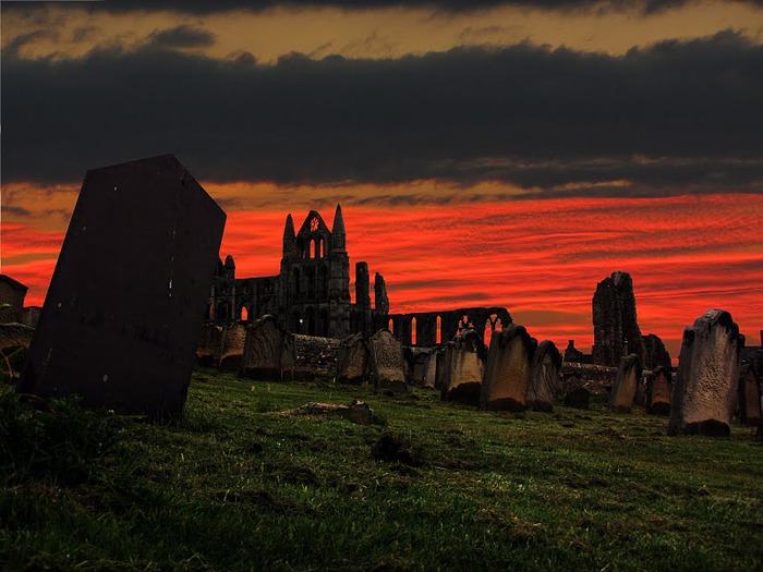 Аббатство Уитби - Whitby Abbey 18107