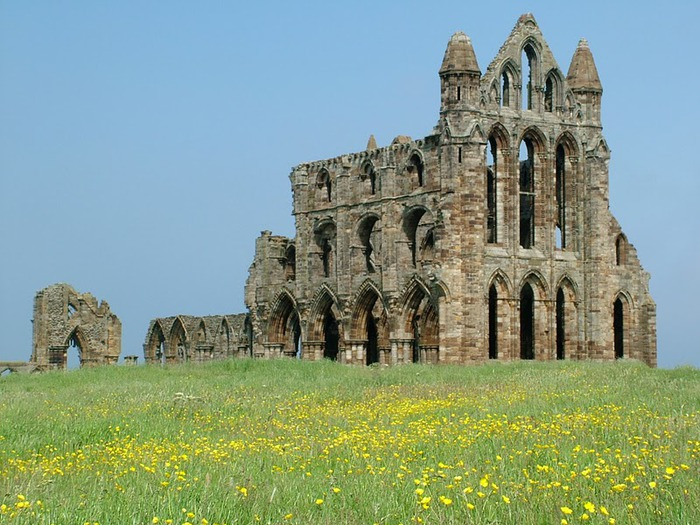 Аббатство Уитби - Whitby Abbey 25613