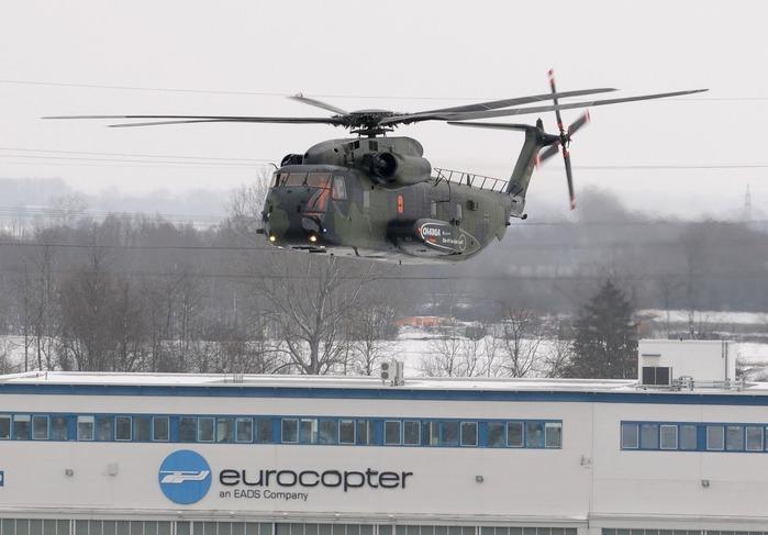 Из 91 машины версий CH-53G и