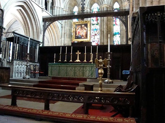 Hexham Abbey, Northumberland, England 10252