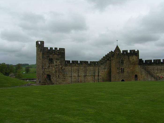 Замок Гарри Поттера - Замок Алник - Alnwick Castle 86949