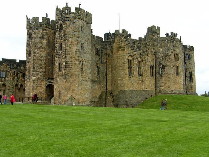 Замок Гарри Поттера - Замок Алник - Alnwick Castle 90358