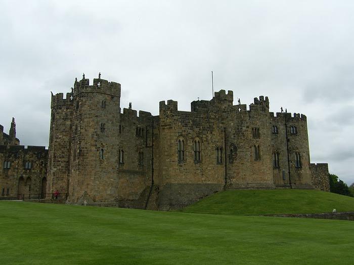 Замок Гарри Поттера - Замок Алник - Alnwick Castle 47386