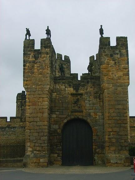 Замок Гарри Поттера - Замок Алник - Alnwick Castle 29694