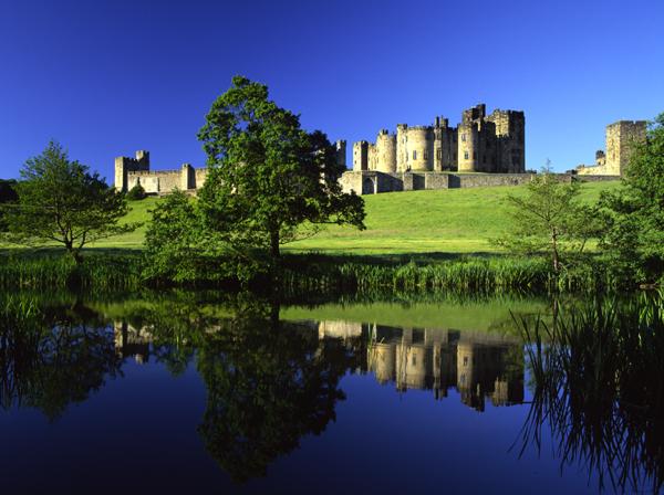 Замок Гарри Поттера - Замок Алник - Alnwick Castle 91610