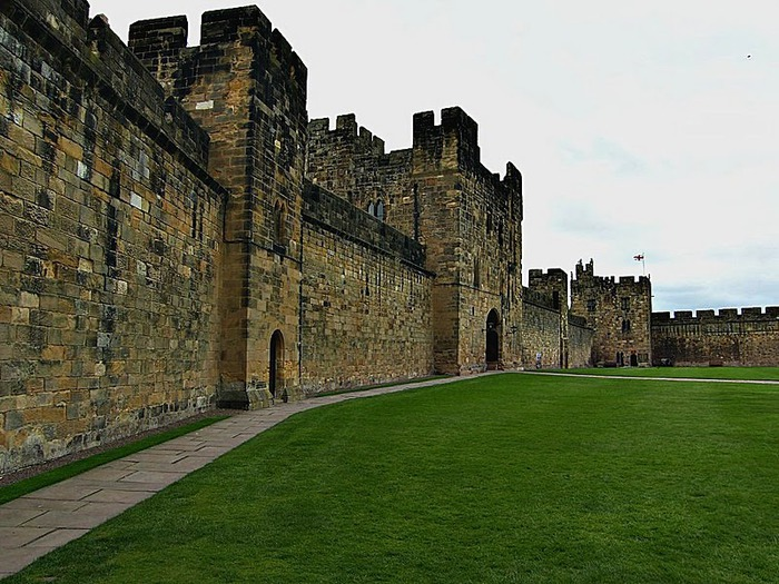 Замок Гарри Поттера - Замок Алник - Alnwick Castle 69445