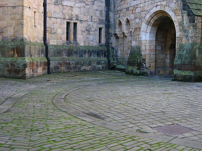 Замок Гарри Поттера - Замок Алник - Alnwick Castle 48439