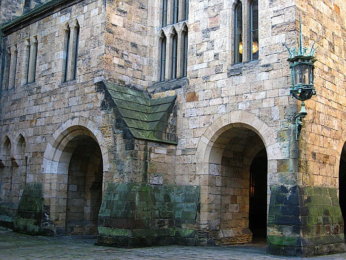 Замок Гарри Поттера - Замок Алник - Alnwick Castle 64850