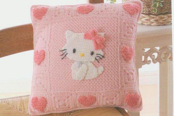 подушка китти