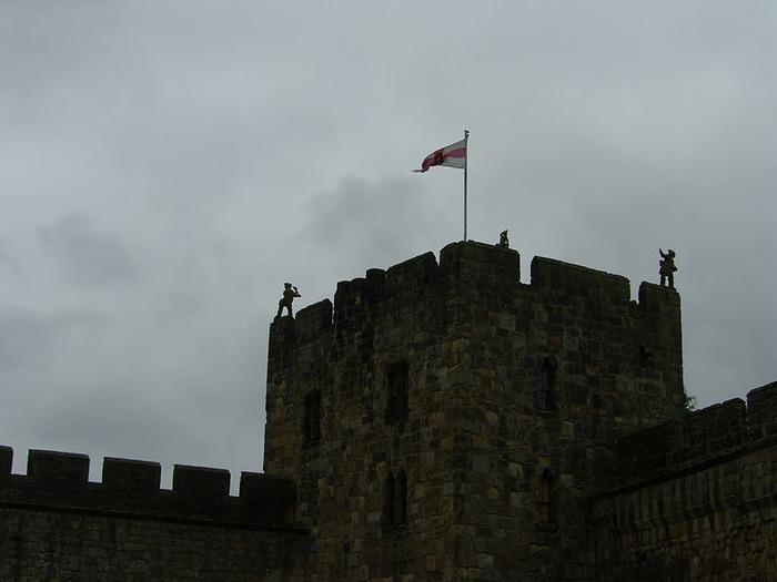 Замок Гарри Поттера - Замок Алник - Alnwick Castle 16062