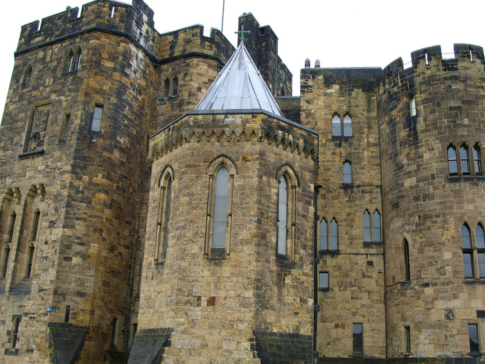Замок Гарри Поттера - Замок Алник - Alnwick Castle 84491