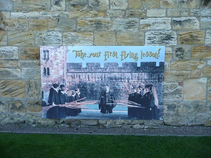 Замок Гарри Поттера - Замок Алник - Alnwick Castle 19835