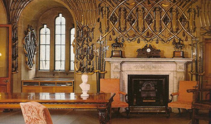 Замок Гарри Поттера - Замок Алник - Alnwick Castle 12674