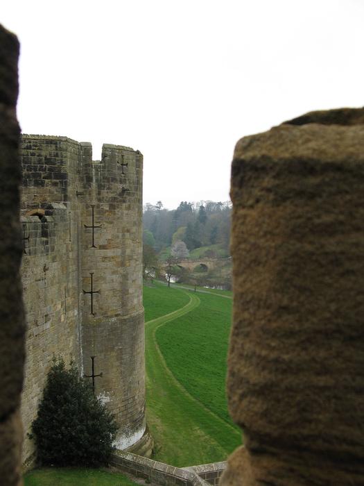 Замок Гарри Поттера - Замок Алник - Alnwick Castle 11562