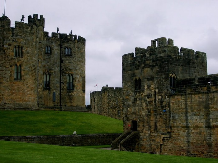 Замок Гарри Поттера - Замок Алник - Alnwick Castle 56825
