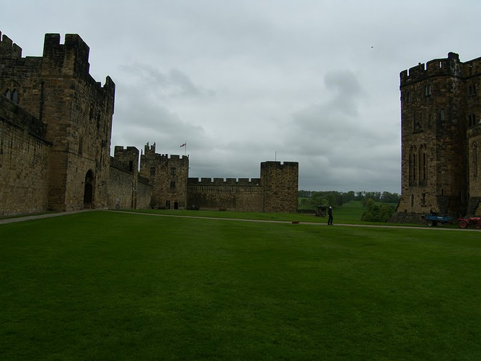 Замок Гарри Поттера - Замок Алник - Alnwick Castle 91336