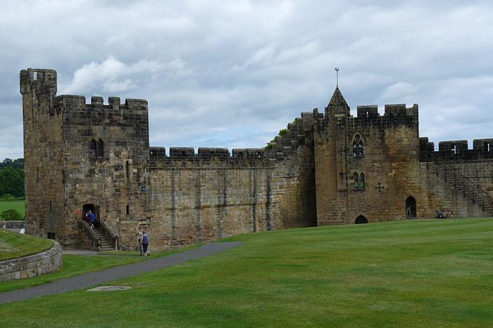 Замок Гарри Поттера - Замок Алник - Alnwick Castle 75792