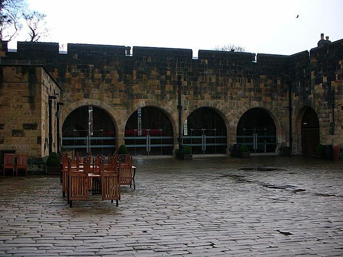 Замок Гарри Поттера - Замок Алник - Alnwick Castle 12801