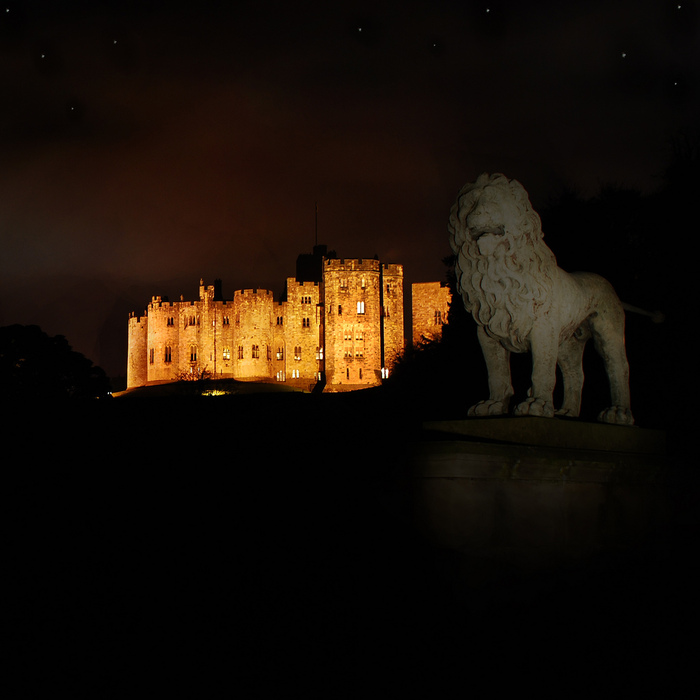 Замок Гарри Поттера - Замок Алник - Alnwick Castle 83084