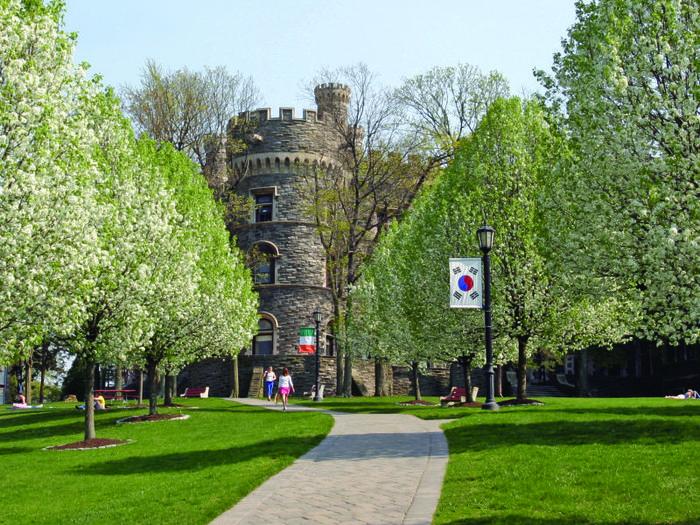 Замок Грей Тауэрс в Гленсайде 51001