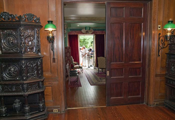 Замок Грей Тауэрс в Гленсайде 34557