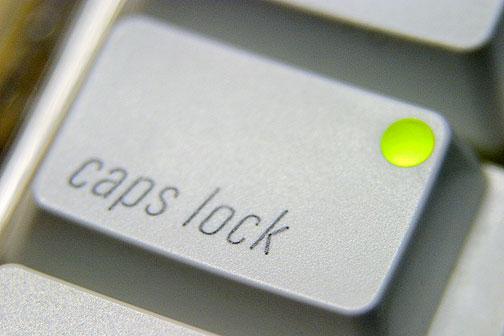capslock - международный день капслока