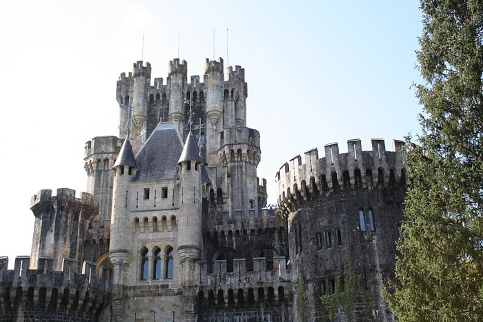 Замок Бутрон (Castillo de Butron). Испания 74167