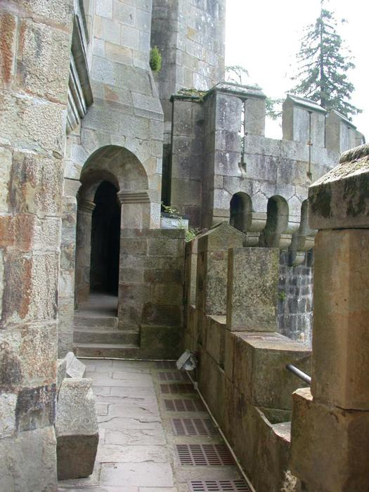 Замок Бутрон (Castillo de Butron). Испания 32797