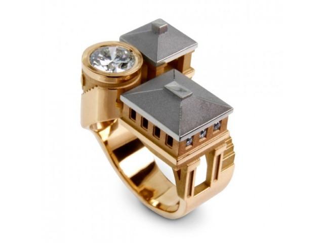 Архитектура в кольцах Филиппа Турнера 5