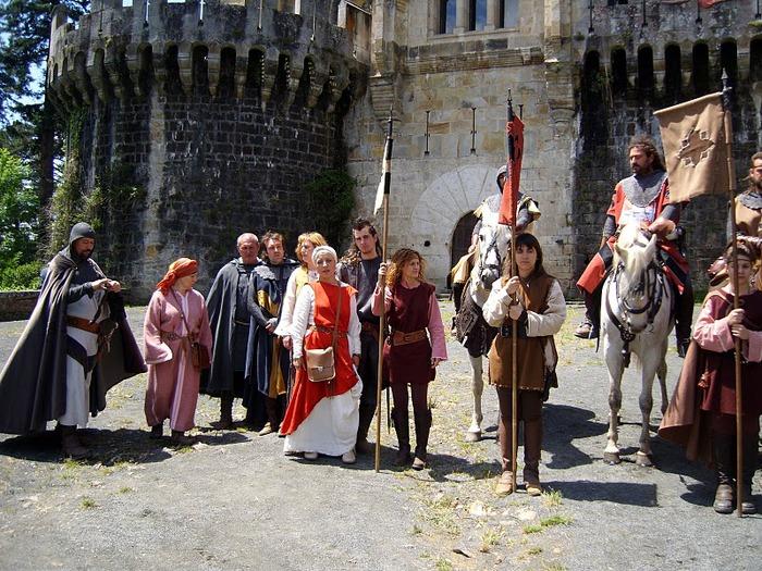 Замок Бутрон (Castillo de Butron). Испания 21432