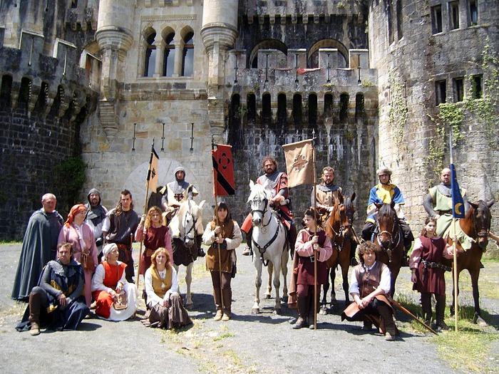 Замок Бутрон (Castillo de Butron). Испания 50713