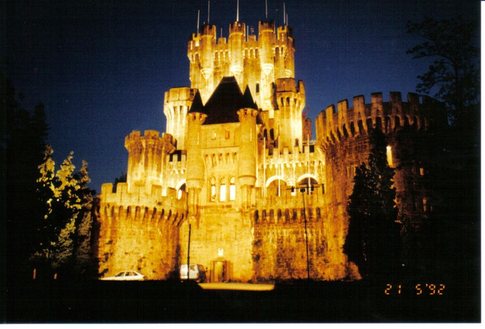 Замок Бутрон (Castillo de Butron). Испания 38683