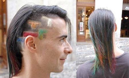 13 прикольных причёсок 2