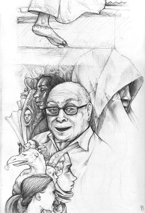 Иллюстратор Paul Davey 55