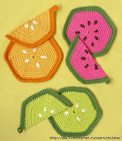 Вязание крючком для кухни