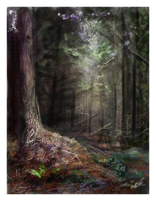 Великолепные пейзажи Джона Мортимера 1