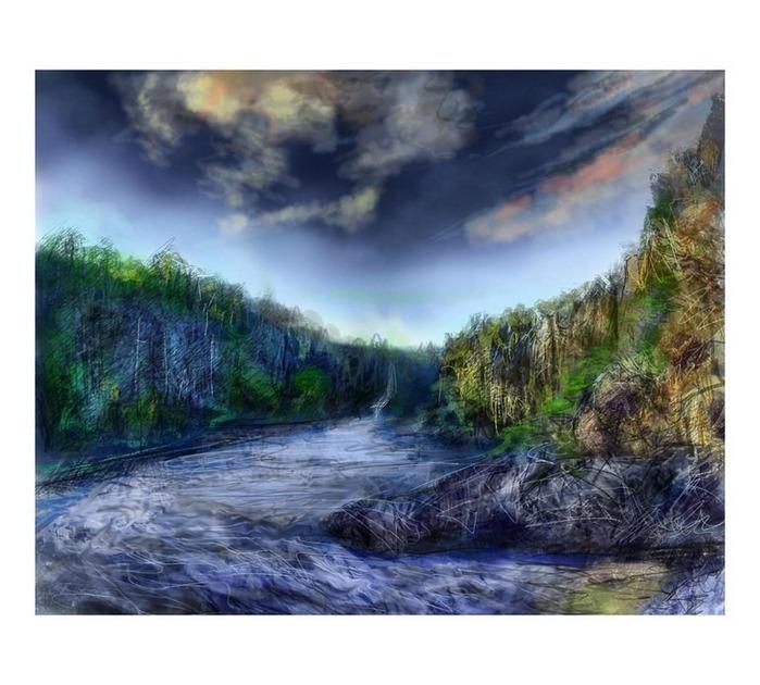 Великолепные пейзажи Джона Мортимера 3